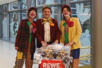 REWE-Spendenaktion im Klinikum Heidelberg