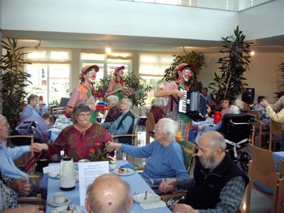 Seniorennachmittag im Pflegeheim in Malsch