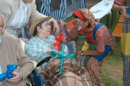 Sommerfest im Pflegeheim in Brackenheim